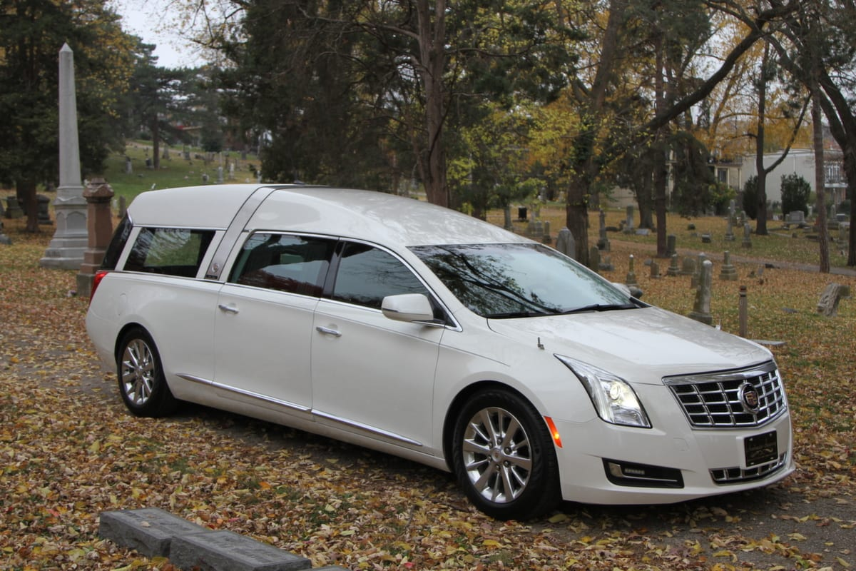 Hearse For Sale >> (Stock Photo) 2017 Cadillac Armbruster Stageway - Crown ...