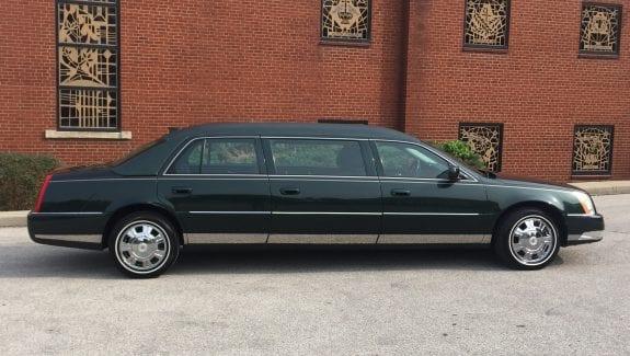 2010 Cadillac Federal Six Door Limo