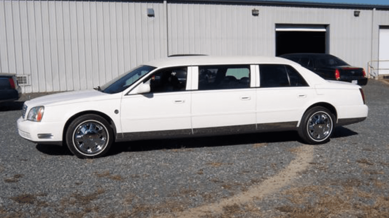 2003 Cadillac Raised Roof Limo 1