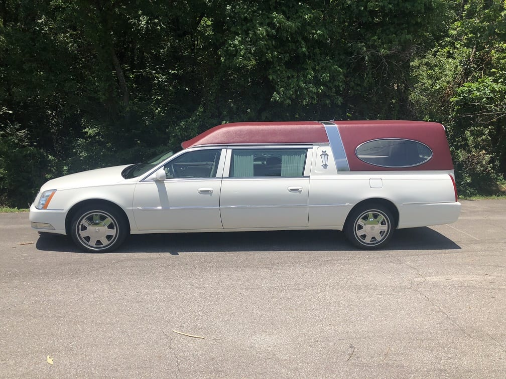 2007 White Cadillac Federal Funeral Hearse for Sale