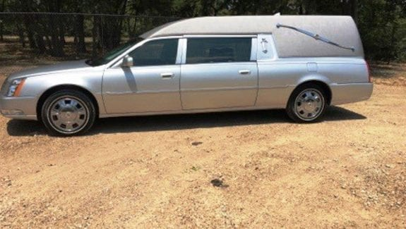 2010 used hearse for sale