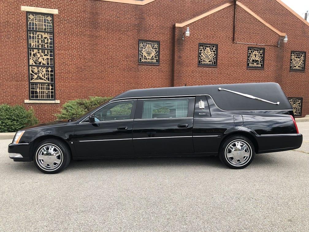 2007 Black Cadillac Eureka Funeral Hearse for Sale