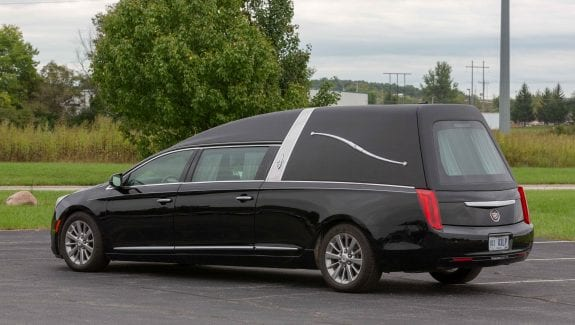2013 Used Cadillac Hearse for Sale 1