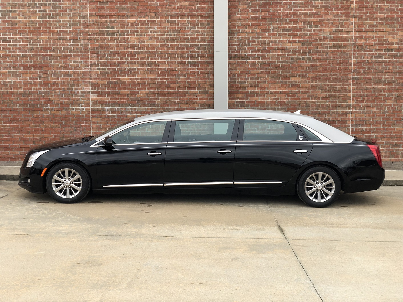 2014 Armbruster Stageway Black Six Door Funeral Limousine for sale