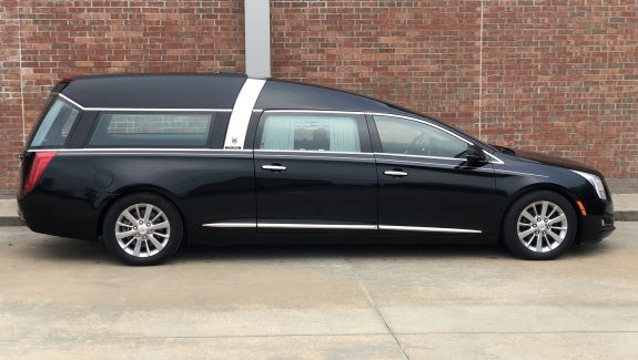 2015 Black Armbruster Stageway Crown Regal Funeral Hearse for sale