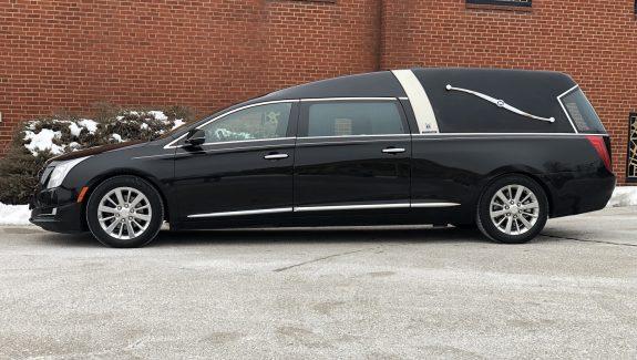 2016 Black Armbruster Stageway Crown Landaulet Funeral Coach For Sale