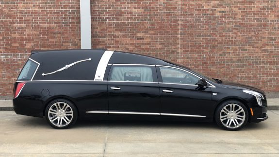 2019 Black Armbruster Stageway Crown Landaulet Funeral Coach for Sale