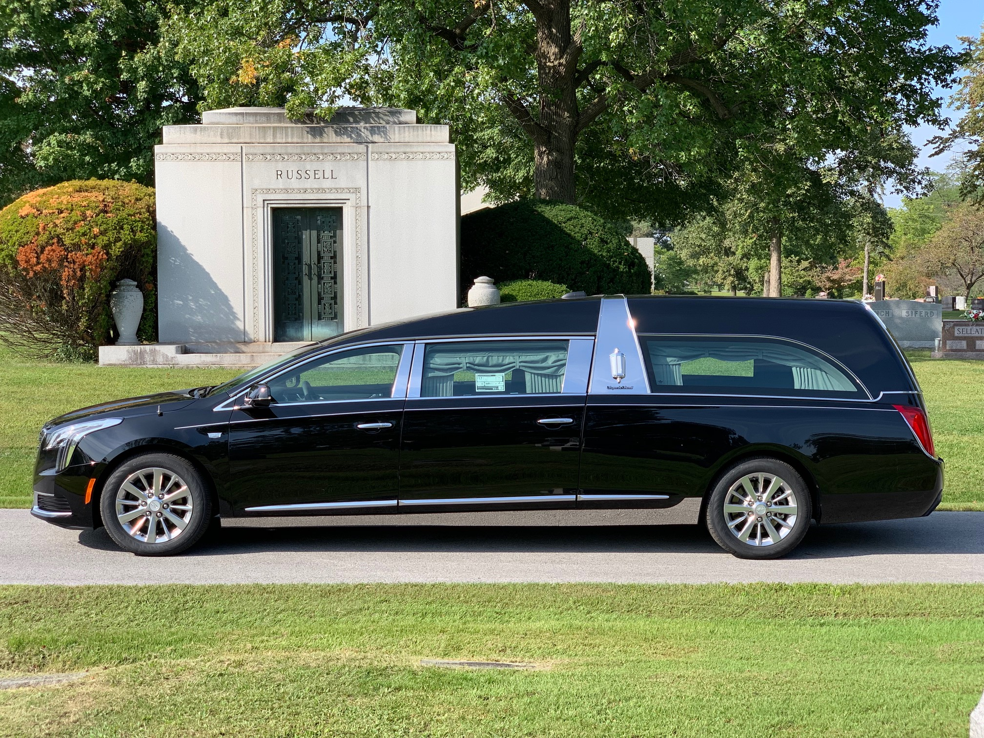 2019 Cadillac S&S Park Hill Funeral Coach