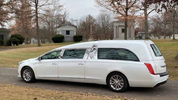 New Cadillac Park Hill Hearse for Sale
