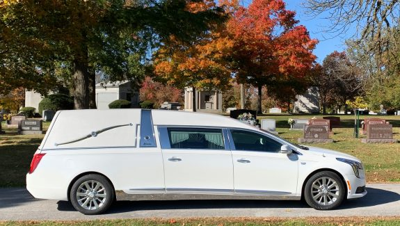 2019 Cadillac Superior Crown Sovereign - Crystal White Tricoat