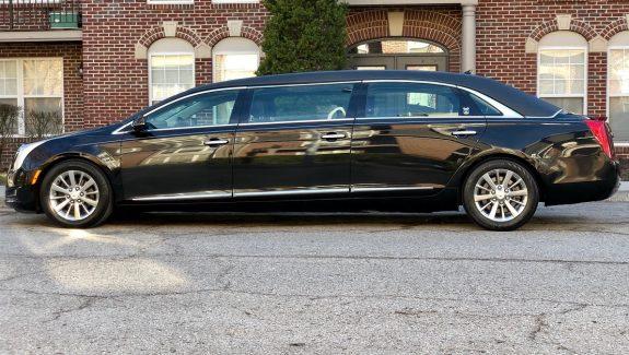 2013 Funeral Six Door Armbruster Stageway Black Limousine For Sale