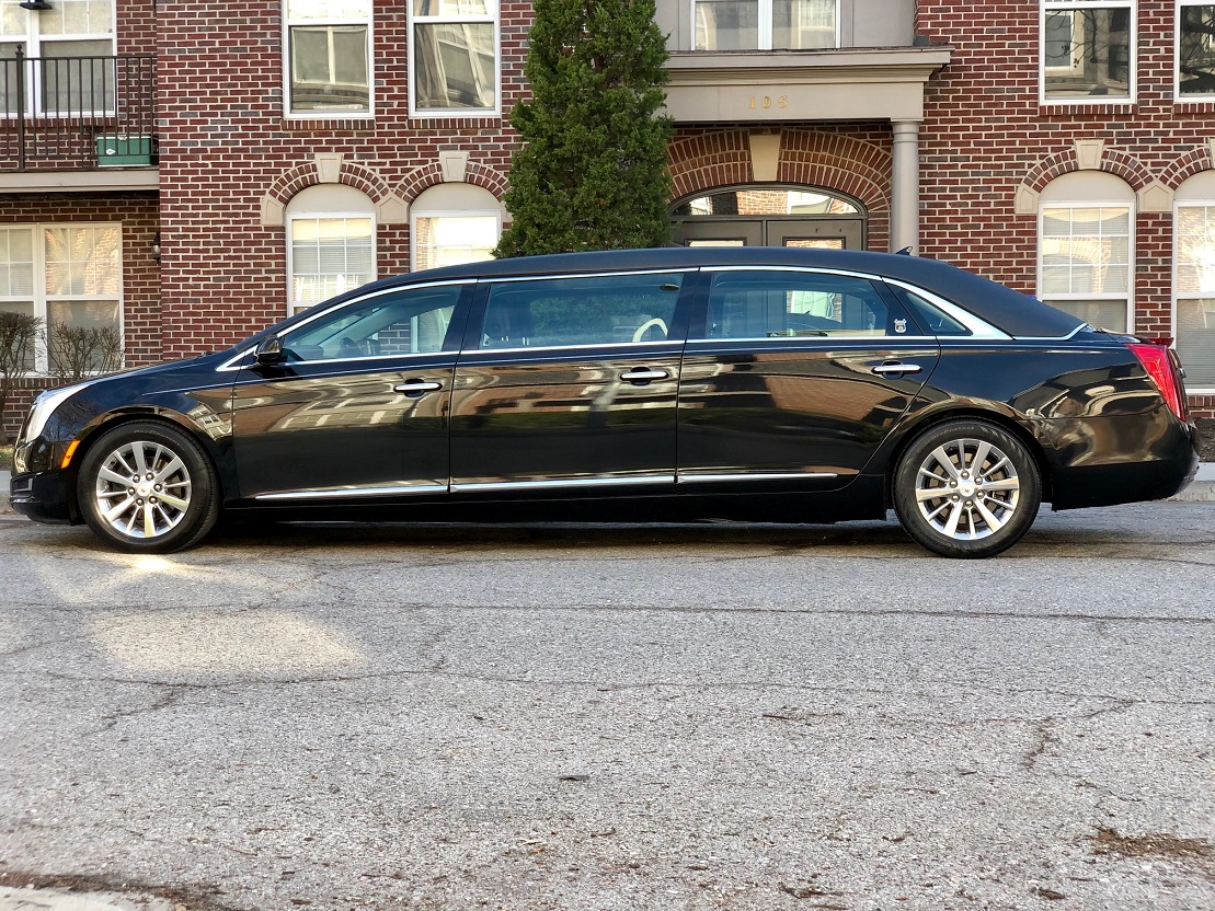 2013 Funeral Six Door Armbruster Stageway Black Limousine For Sale