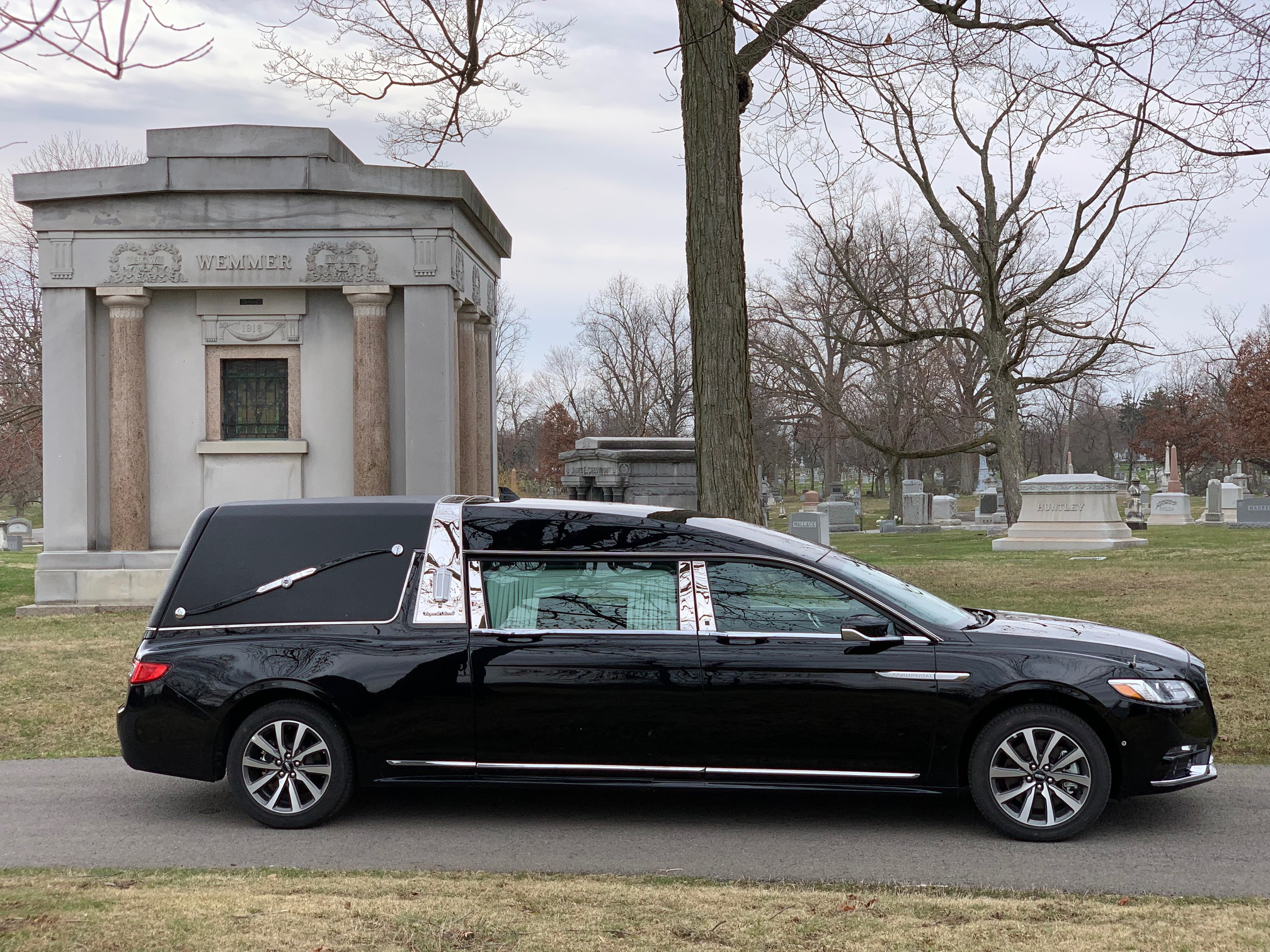 New Lincoln Hearse for Sale