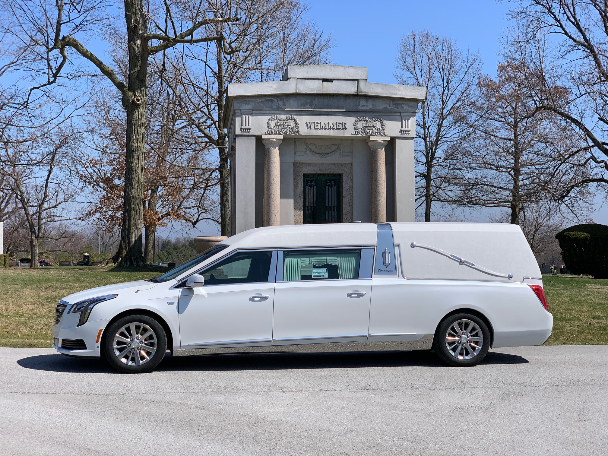 2019 Cadillac S&S Masterpiece Coach Hearse For Sale