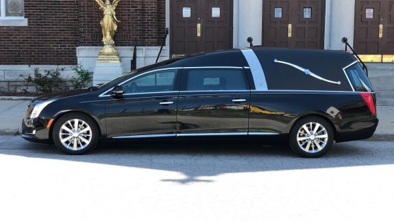 2016 Armbruster Stageway Crown Landaulet Black Funeral Coach Hearse For Sale