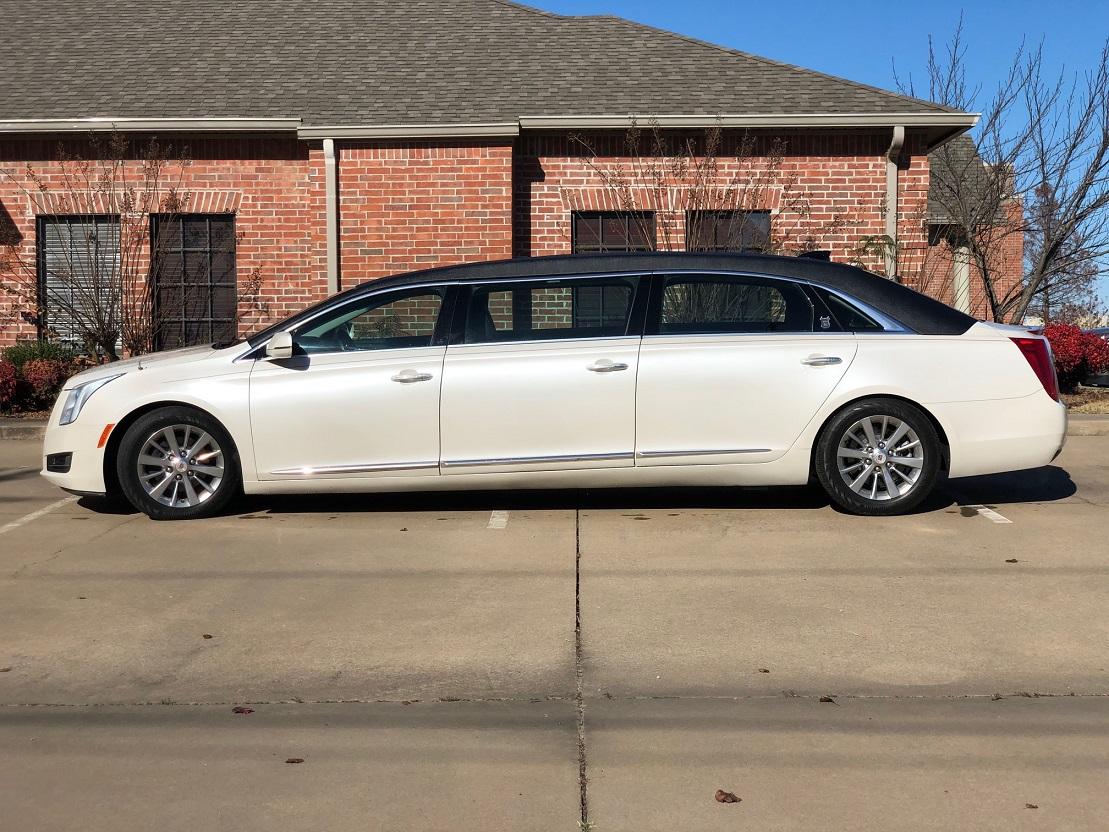 2015 Black White Diamond Armbruster Stageway Cadillac Six Door Funeral Used Limousine For Sale