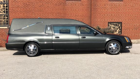 2011 Loden Green Federal Funeral Coach Used Hearse For Sale