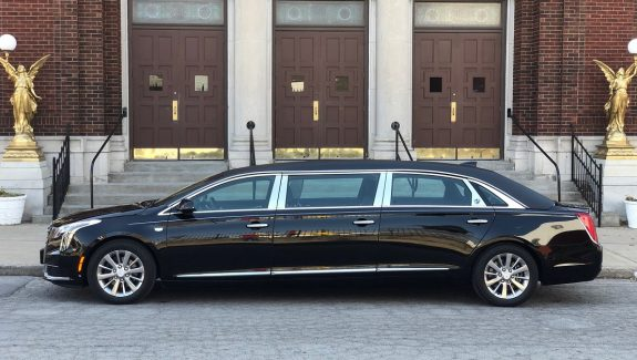 2019 S&S Black Six Door Raised Roof Funeral Limousine New Limo For Sale