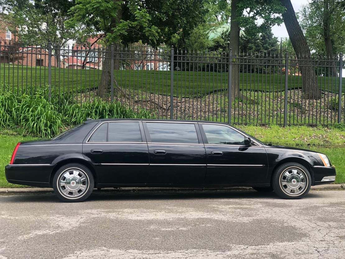 2010 Black Superior Funeral Six Door Limousine Used Limo For Sale