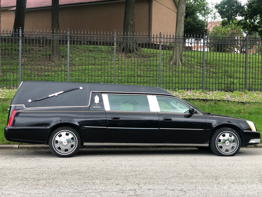 2011 S&S Funeral Coach Black Used Hearse For Sale