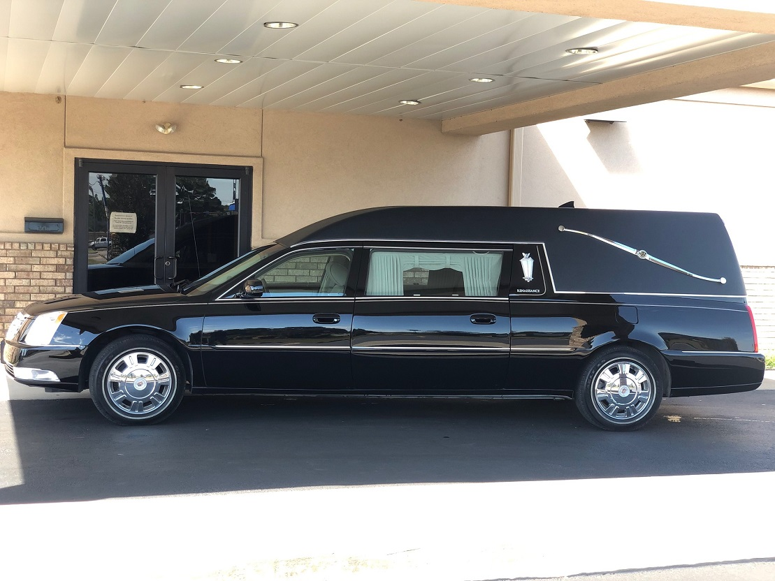2011 Black Cadillac Federal Funeral Coach Used Hearse For Sale